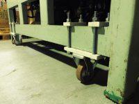 ロールコータパネルのり付け機タイヤ